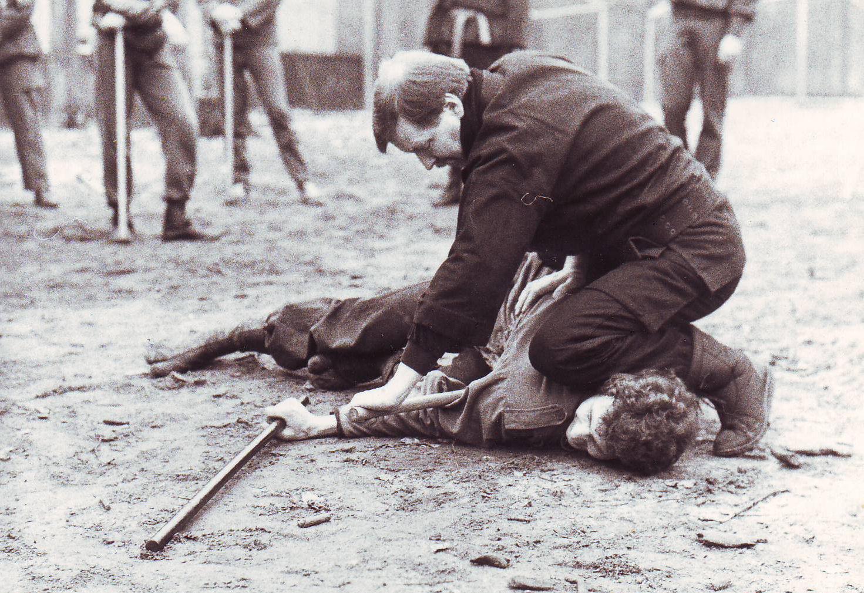1985-1986 Ninjutsu training Beekse Bergen