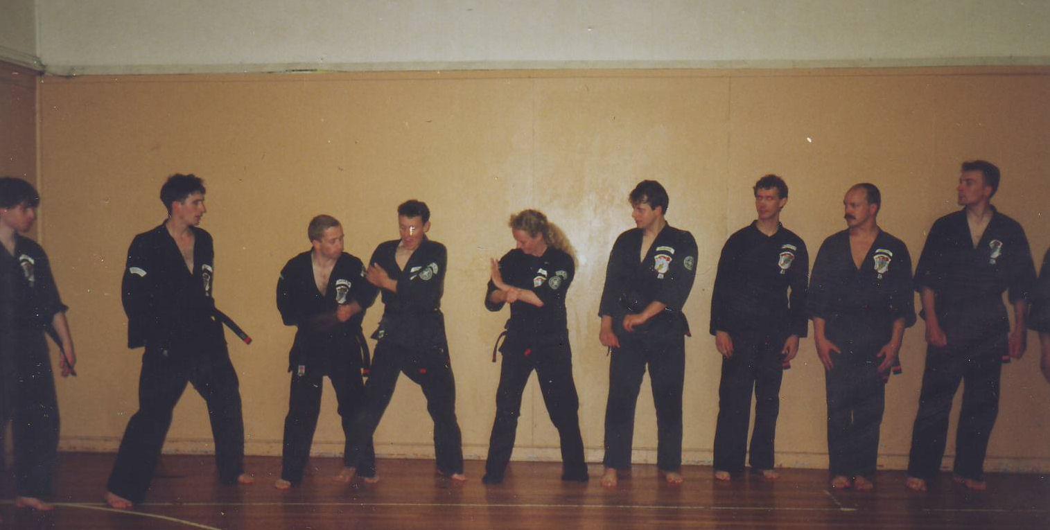 1991 IKKA Black Belts geslaagden Jersey