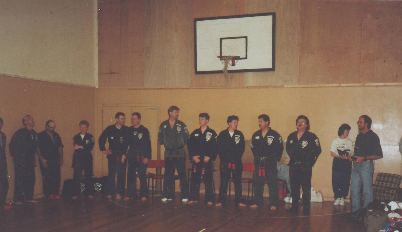 1991 Jersey Black Belt testing comite