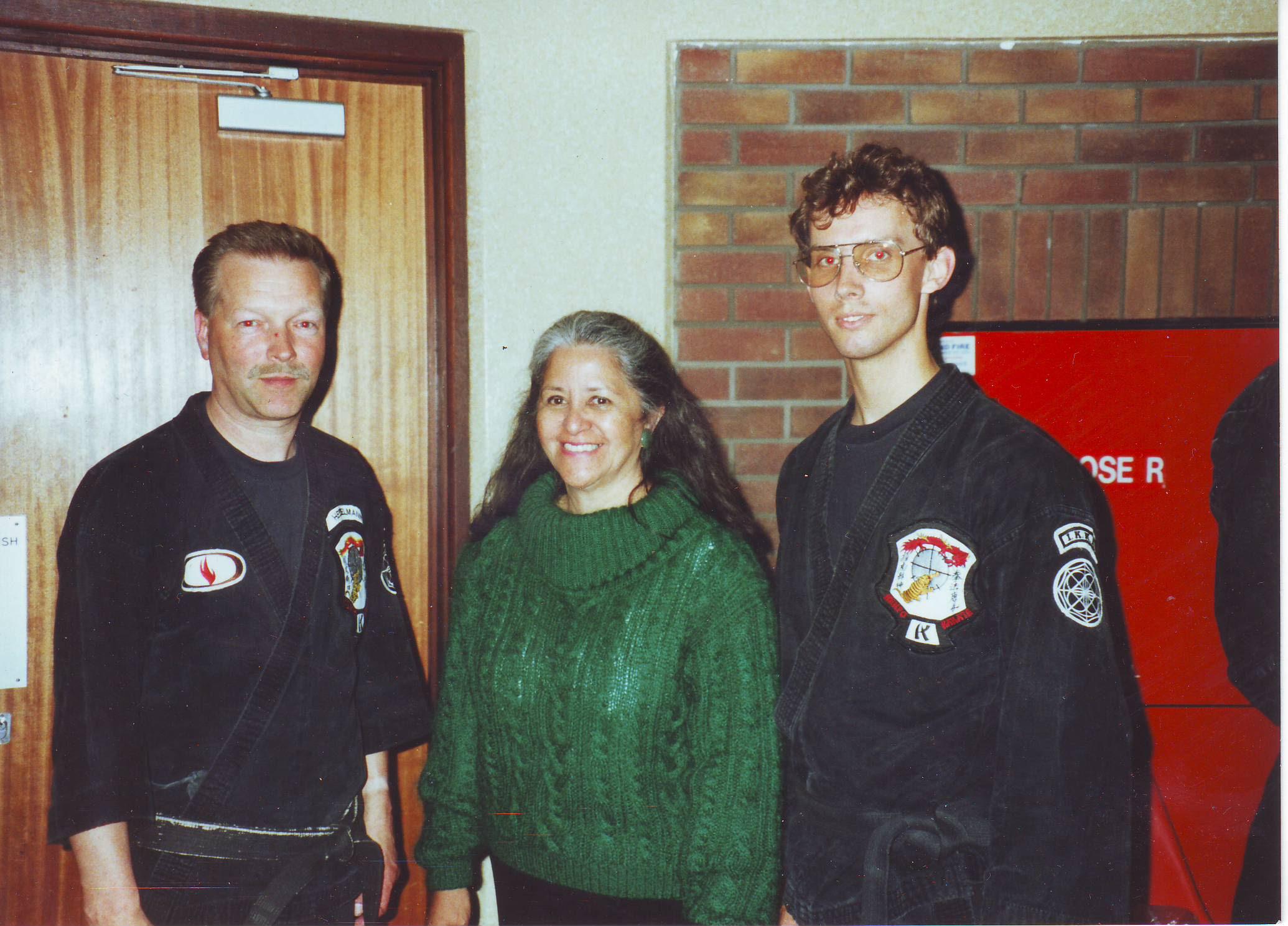 1991 Jersey C.I. Hesselmann, Leilani Parker, Erik Branger