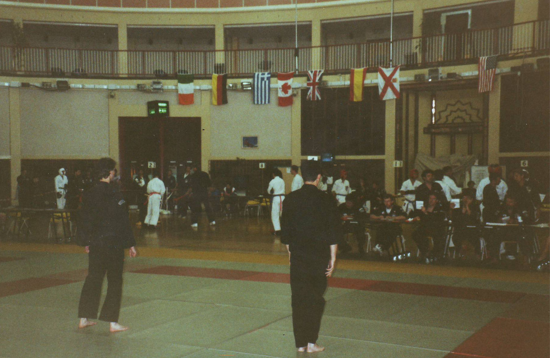 1991 Self Defense competitie uitslag Jersey C.I