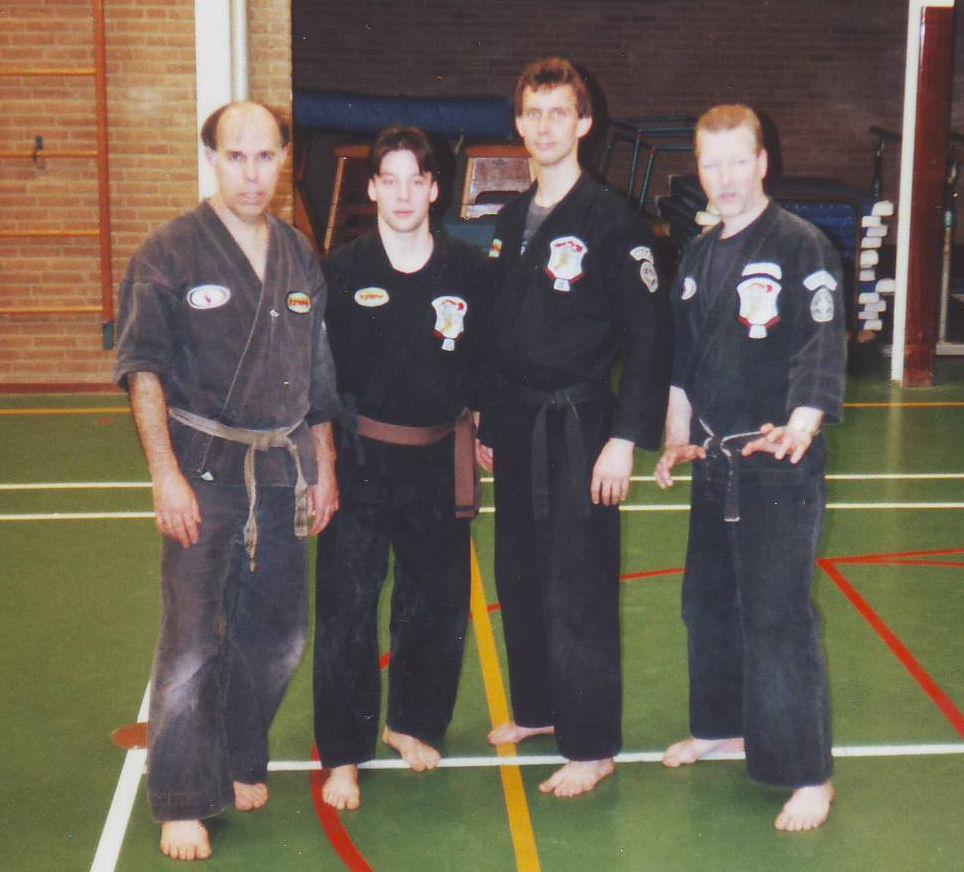 1992-1993 Skip Hancock, Maringka, Branger, Hesselmann