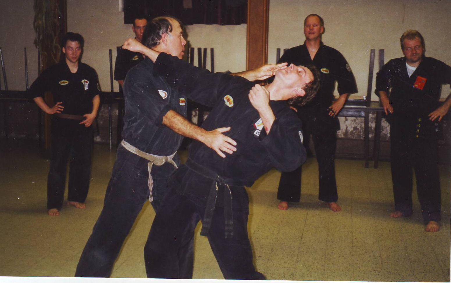 1992-1993 gemangeld door Skip hancock Belgie seminar