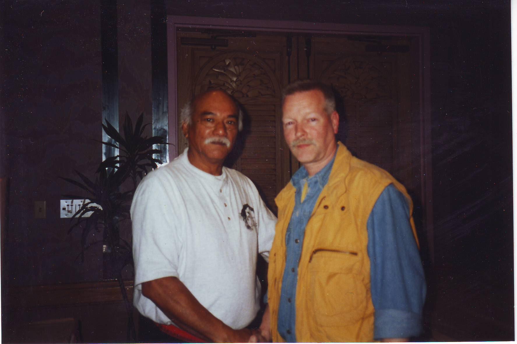 1999 Las Vegas James Ibrao en Hans Hesselmann